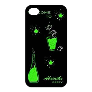 Personalized Absinthe Silicon iPhone 4/4S Case