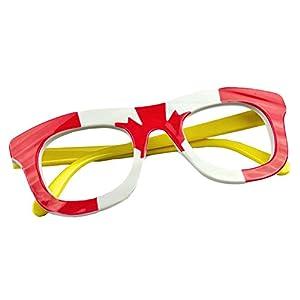 Cute Kids Fashion Eyeglasses Glasses Frame Canada Flag