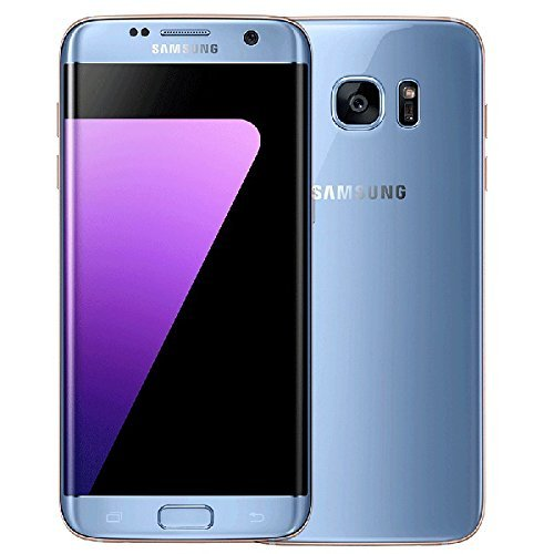 Samsung Galaxy S7 Edge G9350 Factory Unlocked Dual SIM Smartphone, 32 GB, No Warranty - International Version (Blue Coral)