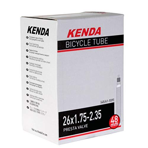 KENDA, Presta, Tube, Presta, Length: 48mm, 26'', 1.75-2.35 (26' Tube Valve Presta)