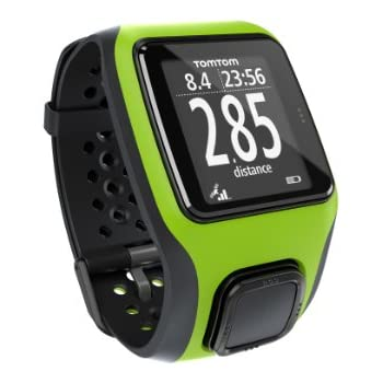 TomTom Multi-Sport GPS Watch, Bright Green/Bright Green,