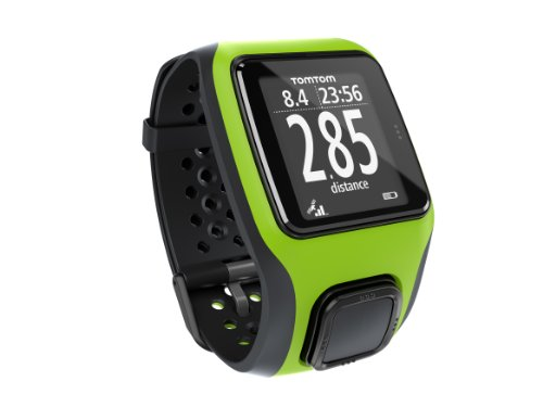 TomTom Multi-Sport GPS Watch, Bright Green/Bright Green, by TomTom