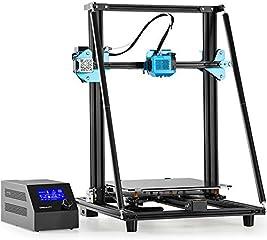 Creality Stampante 3D CR 10 V2, Unità di Estrusione Interamente in Metallo, Alimentatore Meanwell da 350 W/24V, Vite a...