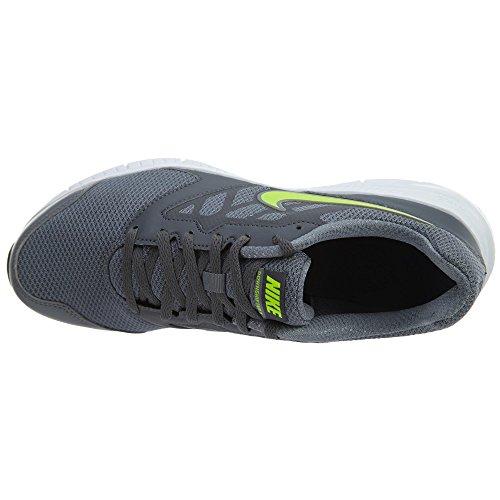 Nike Downshifter 6 Msl Herren Cool Grey / Volt-Dark Grau-Weiß