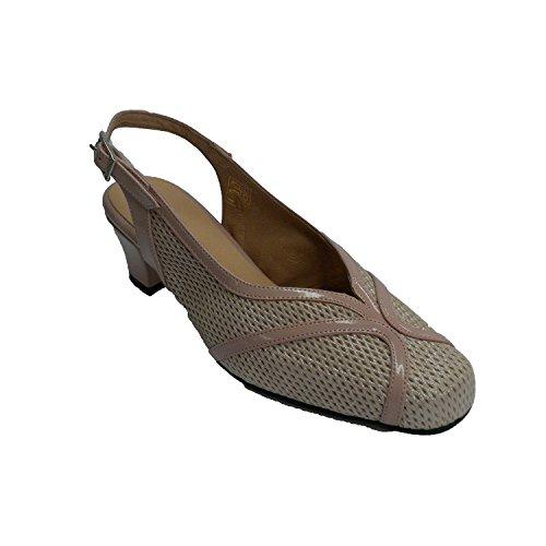 Beig Made Chaussures Habillées Slingback Spain In Trebede en Femme wBqw8Zv
