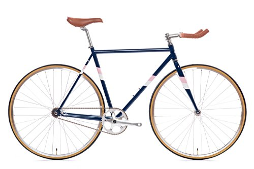 State Bicycle Rutherford 3 - Fixed Gear/Single Speed Bike, 55cm - Bullhorn
