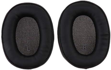 Technica ATH-SR9 DSR9BTに対応 ヘッドフォン 交換用 イヤーパッド 耐久性 ブラック