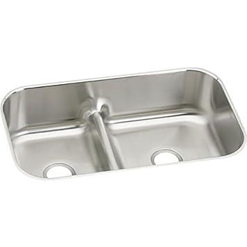 Elkay eaqduh3421 gourmet 21 325 inch x 34 58 inch double basin elkay eaqduh3421 gourmet 21 325 inch x 34 58 workwithnaturefo