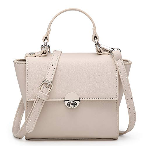 - Shomico Mini Crossbody Bag Small Tote Shoulder Purse Cell Phone Wallet Girls Ladies Women (Katy Beige)