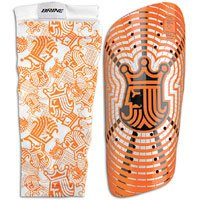 - Brine King Shin Guard - Size X-Large, Orange