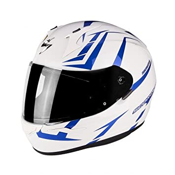 Scorpion Casco Moto exo-390 Hawk, multicolor, talla XL