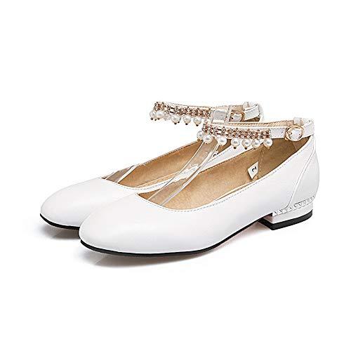 BalaMasa 36 Blanc Sandales APL10603 5 Femme Blanc EU Compensées BgWgFnxw