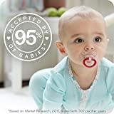 NUK Space Orthodontic Pacifiers, 6-18 Months, 2