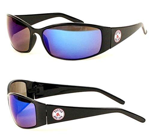 MLB Officially Licensed Team Color Full Frame Sun Revo Sunglasses (Boston Red Sox) ()