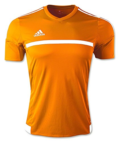 Adidas MLS 15 Match Youth Soccer Jersey M Bold Orange/White