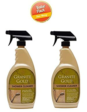 Granite Gold Shower Cleaner, 24 oz-2 pk by Granite Gold