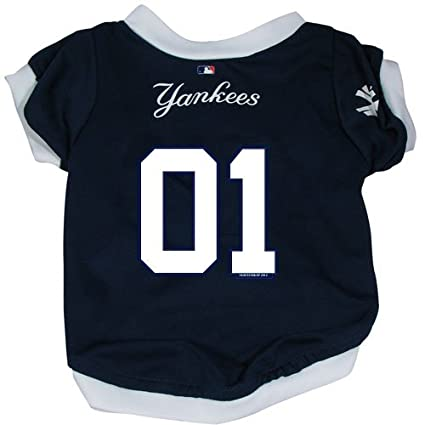 Amazon.com: MLB New York Yankees Pet Jersey, grande: Sports ...