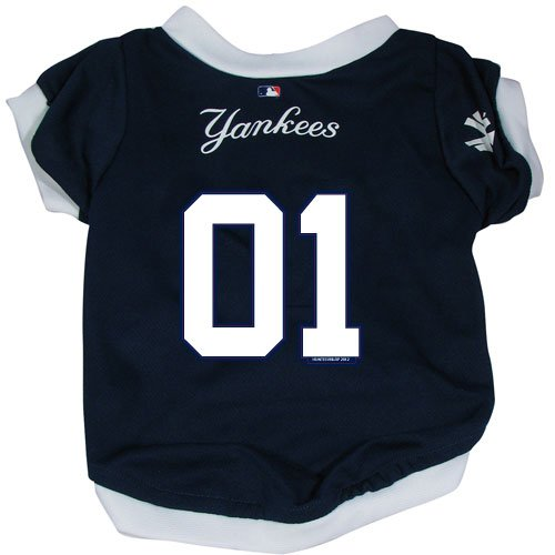 MLB New York Yankees Pet Jersey,  X-Large
