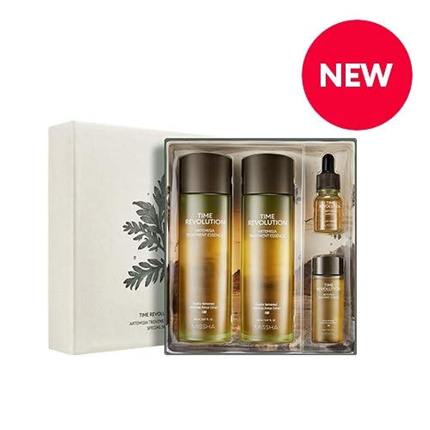 服ことわざ締めるMISSHA タイムレボリューションアルテミシアトリートメントエッセンススペシャルセット/Time Revolution Artemisia Treatment Essence Special Set [並行輸入品]