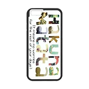 Protective TPU Rubber Coated Case Cover for iPhone 6 - Hakuna Matata by mcsharks