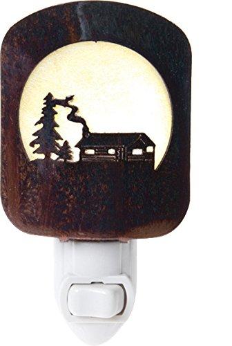 Thirstystone BNLLCHP Laz NL Log Cabin Nightlight HP, Honey Pinion