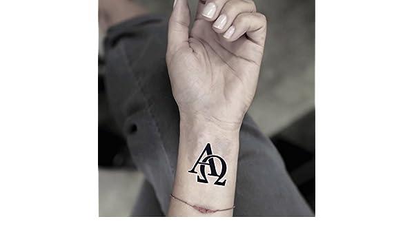 Tatuaje Temporal de Omega (2 Piezas) - www.ohmytat.com: Amazon.es ...