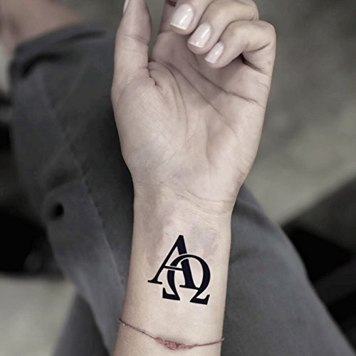 Amazoncom Omega Temporary Fake Tattoo Sticker Set Of 2 Www