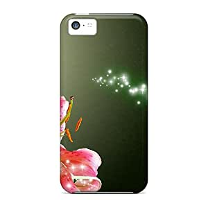 Special AntonioKennedy Skin Case Cover For Iphone 5c, Popular Coral Lily Phone Case