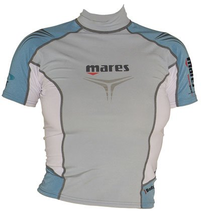 Mares She Dives Short Sleeve Thermo Guard 0.5mm Rash Guard Shirt | Undersuit | 30+ UV Protection