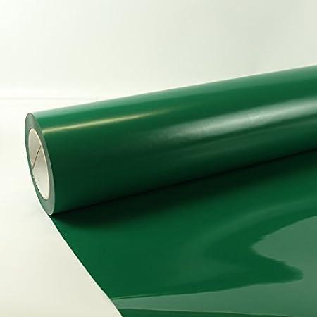 3m x 0,5m Poli-Flex Premium L/ámina Flexfolie Hierro-en la pel/ícula Poli-flex Gratis Folindo Etiqueta 404 Verde