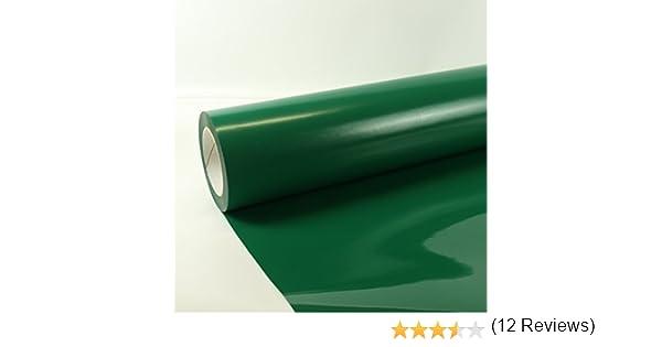 0, 3m x 0,5m Poli-Flex Premium Lámina Flexfolie Hierro-en la película Poli-flex + Gratis Folindo Etiqueta - 404 Verde: Amazon.es: Hogar