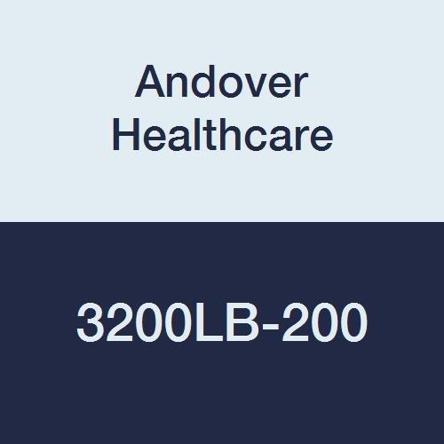 Andover Healthcare 3200LB-200 Coflex Non-Woven Cohesive Self-Adherent Wrap, 15' Length, 2'' Width, Light Blue, Latex Bulk (Pack of 200)