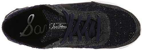 Fashion Dax Navy Sneaker Sam Women's Edelman Boucle Black aUwxOAn8Sq