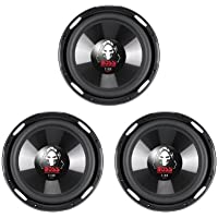 3) NEW BOSS Phantom P106DVC 10 6300W DVC Car Audio Power Subwoofers Subs 4 Ohm