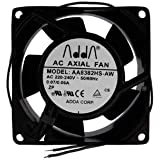 ADDA 230V AC Cooling Fan 80mm x 38mm High Speed