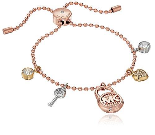 Michael Kors Hamilton Tri-Tone Charm Bracelet