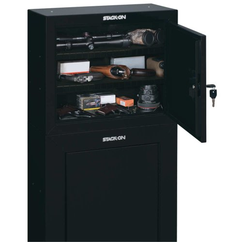 18-steel-pistol-ammo-cabinet-black-high-gloss-finish-with-silver-accents-exterior-21-x-10-x-18-calif