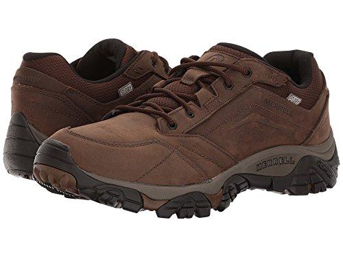 Merrell Men's Moab Adventure Lace Waterproof Hiking Shoe, Dark Earth, 12 M US by Merrell