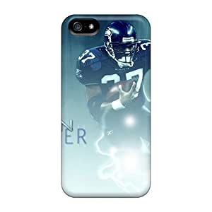Saraumes Case For Samsung Galaxy S5 Cover Hybrid PC Silicon Bumper Nfl Haun Alexander Football Player