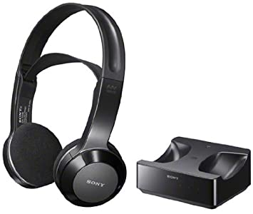 Sony Long Range Wireless Stereo Headphones with Wide Comfortable Headband, Volume Control and Mute Switch for all Samsung UN40EH6000, UN46EH6000, UN50EH6000, UN55EH6000, UN60EH6000 UN65EH6000 LED LCD HDTV Flat Screen Television – Works Up To 26 feet Away