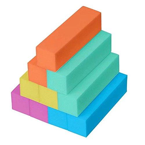 10 pezzi di Blocco del buffer/Blocco tampone chiodo(5 colori) dailymall