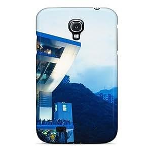 New Galaxy S4 Case Cover Casing(hong Kong Night City)