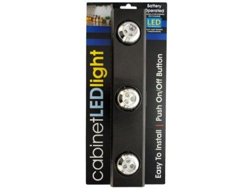 Kole Imports OC552 9-LED Under-Cabinet Light with Rotating Lights by Kole Imports by Kole Imports