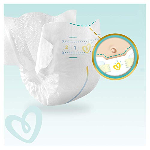 Pampers Premium Protection Size 2 x 72 Nappies, 2 kg - 5 kg