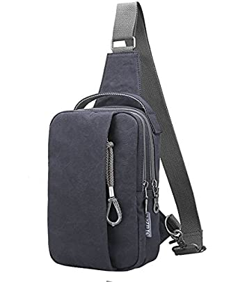 Amazon.com: Muzee Sling Bag for Men Chest Shoulder Gym Backpack ...