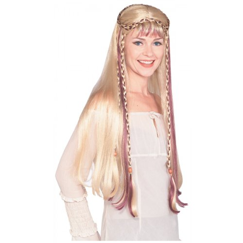 Medieval Maiden Wig Costume