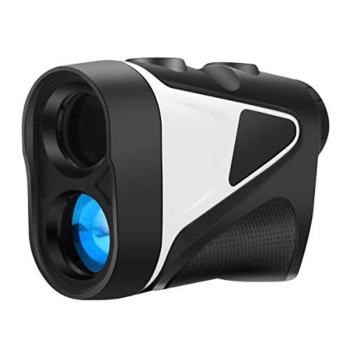 TOP-MAX Golf Range Finder Laser Distance Measurement Finder for Golfing, Hunting, Archery or Other, Super Clear Coated Optic, 6X Magnification, 540 Yds