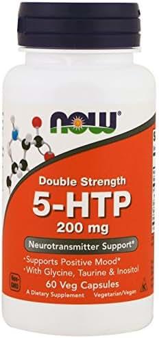 Now Foods 5Htp 200 milligrams, 60 Count