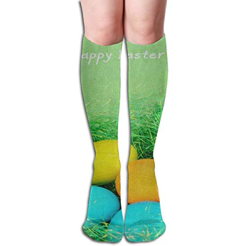 Socks Easter Egg Green Grass Fabulous Womens Stocking Party Sock Clearance for Girls