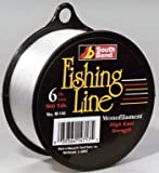 South Bend Mono 6 -Pounds 900 Yds (Clear), Outdoor Stuffs